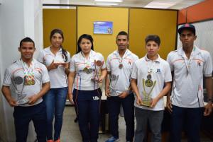 UA 3o Ascu medallistas