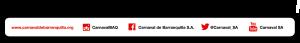 Carnaval Prensa Pie de logo
