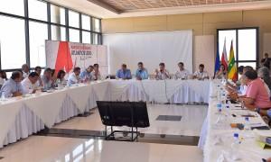 Los avances y retos del sector energético de la Región Caribe es el tema de la reunión liderada por el Presidente Juan Manuel Santos, este jueves en Barranquilla, junto con ministros, gobernadores, alcaldes, gremios y entidades del sector eléctrico