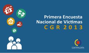 Encusta Nacional de Víctimas WEB
