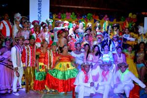 Grupos que apoya Electricaribe y participan en el Desfile del Rey Momo