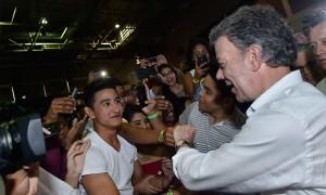 Durante su visita a la Universidad del Norte el Jefe del Estado indicó que en el país hay más de 2.600 estudiantes en el Programa Ser Pilo Paga.