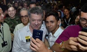 En Barranquilla el Presidente Santos compartió con los pilos de la Región Caribe, que se hicieron presentes en el coliseo de la Universidad del Norte y que hacen parte del Ser Pilo Paga 2.