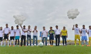 Inauguración este viernes por parte del Presidente Santos del estadio 'Armando Tuirán Paternina' de Sahagún (Córdoba) con capacidad para cuatro mil espectadores y que cumple con las especificaciones de la Fifa.