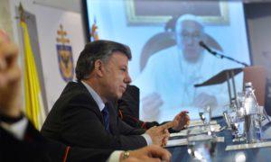 El Presidente Juan Manuel Santos en la apertura del Congreso del Jubileo Continental de la Misericordia hizo alusión al apoyo al proceso de paz brindado por el Papa Francisco.