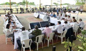 El Presidente Juan Manuel Santos lideró un histórico Consejo de Ministros en la Macarena, municipio símbolo que está haciendo el tránsito de la guerra a la paz.