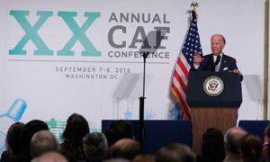 Vicepresidente Biden ratifica compromiso de Estados Unidos con la construcción de paz en Colombia