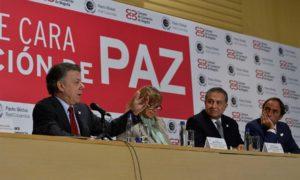 """Durante el conversatorio """"El sector privado de cara a la construcción de la paz"""", el Presidente Juan Manuel Santos dijo que el proceso de paz fue detalladamente planeado y diseñado."""