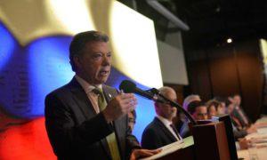 El Presidente Santos resaltó el importante balance del a Jurisdicción Constitucional y dijo que se celebra en un momento histórico, luego de la firma del Acuerdo Final para la Terminación del Conflicto.