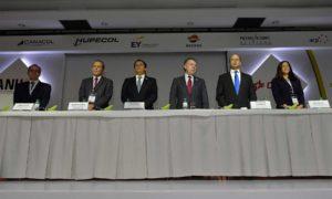 El Presidente Santos instaló este jueves en el Club El Nogal, de Bogotá, el II Congreso Internacional de la Asociación Colombiana del Petróleo 'El futuro del Petróleo y el Gas: Desafíos y Respuestas', donde afirmó que  la paz es esencial para la industria