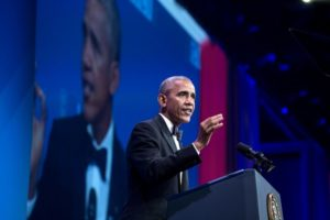 President Barack Obama delivers remark during the 39th Annual Congressional Hispanic Caucus Institute Public Policy Conference and Annual Awards Gala at the Walter E. Washington Convention Center in Washington, D.C., Sept. 15, 2016. (Official White House Photo by Chuck Kennedy)