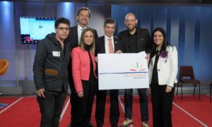 'Colombia renace' es la nueva imagen para el posconflicto elegida mediante concurso. La premiación se realizó con presencia del Alto Consejero para el Posconflicto, Rafael Pardo, y el Alto Consejero de Comunicaciones, Camilo Granada.