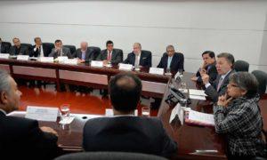 En la reunión encabezada este martes por el Presidente Santos en la Casa de Nariño estuvieron representantes de 500 iglesias de quince denominaciones.