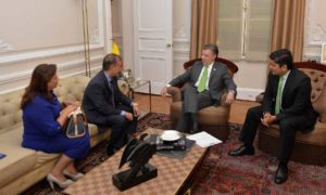Representantes del Partido Independiente de Renovación Absoluta, Mira, se reunieron con el Presidente Santos, en desarrollo del diálogo nacional que lidera para sacar adelante los acuerdos de paz.