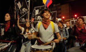 Estudiantes, movimientos políticos alternativos y representantes de la sociedad civil marcharon en la capital con un objetivo común, alcanzar un ¡Acuerdo Ya!