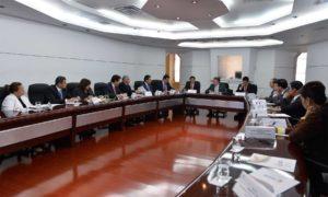 El Presidente Santos lidera la reunión de la Comisión Nacional de Moralización, que integran el Fiscal General de la Nación, el Contralor General de la República, la Procuradora General de la Nación y el Defensor del Pueblo, entre otros altos funcionarios