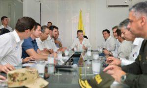En Barranquilla, el Jefe del Estado encabezó este domingo una reunión para revisar las medidas adoptadas ante la temporada de lluvias. Subrayó que gracias al sistema de gestión de riesgos y atención de desastres, la situación ha sido atendida con éxito.