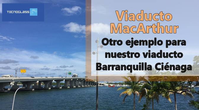 Viaducto MacArthur entre Miami y South Beach