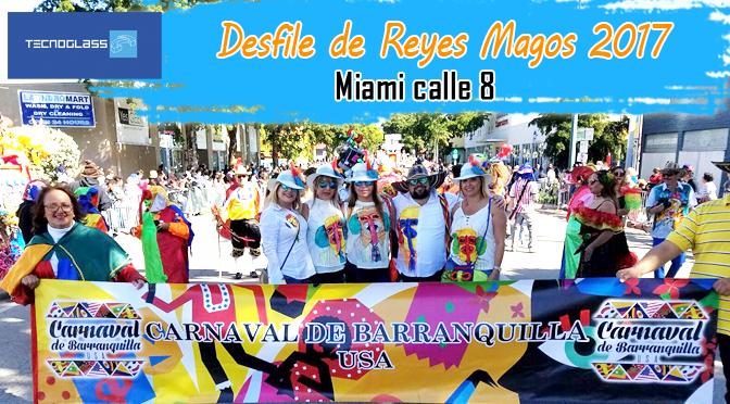 Carnaval de Barranquilla USA en la calle 8 de Miami