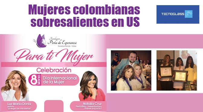Mujeres colombianas sobresalientes en USA
