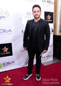 """Matthew Windey """"Susano José"""" en la alfombra roja de Premios Estrellas Digitales"""