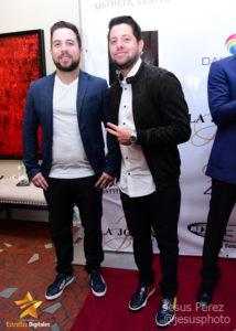 Los Pichy Boys en la alfombra roja de Premios Estrellas Digitales