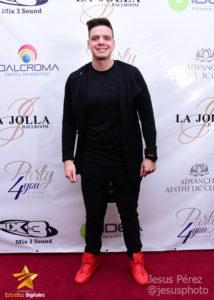 Marco Pérez en la alfombra roja de Premios Estrellas Digitales