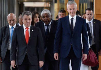 Se fortalece respaldo de Francia a Colombia a la Ocde