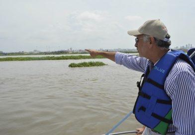 Islote al lado del Canal de acceso un riesgo para el futuro
