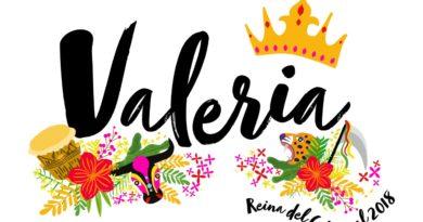 Este es el sello de Valeria @vabuchaiber nuestra Reina del Carnaval