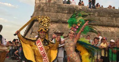 Homenaje a la Danza de Congo de nuestra Valeria @vabuchaiber y el rey Momo en Cartagena