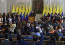Presidente @JuanManSantos posesionó a magistrados de la JEP
