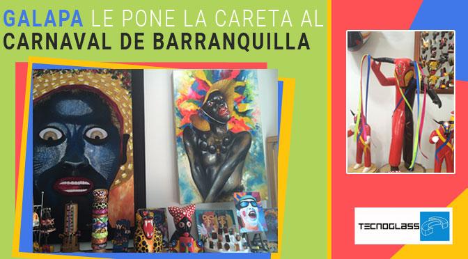 Galapa le pone la careta al Carnaval de Barranquilla