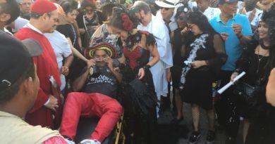 La muerte de Joselito en el @Carnaval_SA de BQuilla, la mejor interpretación de Valeria @vabuchaiber