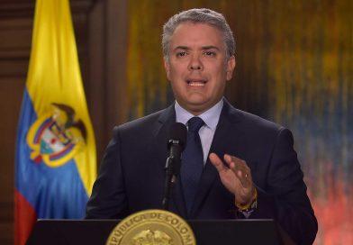 ¡Basta ya de muertes, basta ya de secuestros y de atentados contra el medio ambiente. Colombia le dice al Eln basta!: Presidente @IvanDuque