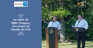 La visita de Mike Pompeo, Secretario de Estado de USA