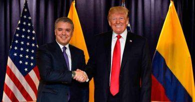 Por segunda vez, encuentro de los presidentes Duque y Trump