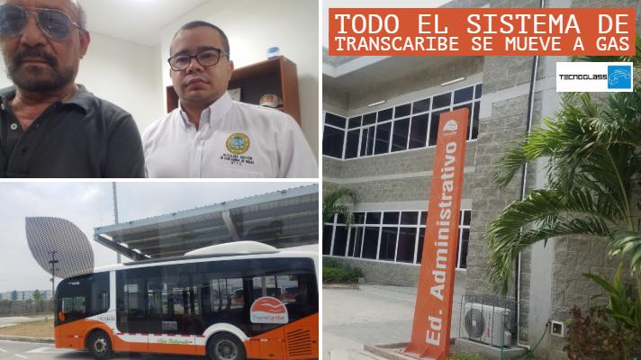 Transcaribe, líder en gas vehicular del transporte masivo