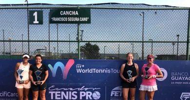 María Paulina campeona del W15 de tenis en Guayaquil, Ecuador: @alcaldiabquilla ,  vía @TecnoglassSA