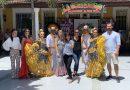 Avanzada periodística española a @Carnaval_SA previa a la @latinpeoplefer1 de Madrid, vía @TecnoglassSA la @_VentanaAlMundo
