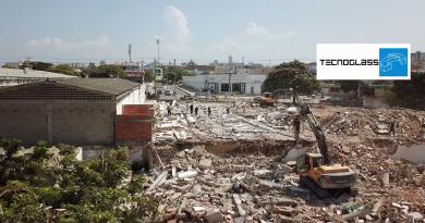 En construcción, la calle 72 hasta el @Granmalecon_baq: alcalde @AlejandroChar, vía La @_VentanaAlMundo