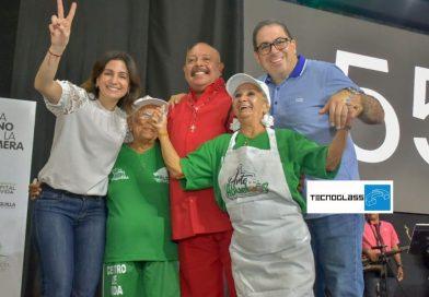 Primera dama Katia Nule lideró celebración de Centros de vida para ancianos, 26 fijos y 113 móviles, en mes del adulto mayor: @Alcaldiabquilla, vía @_VentanaAlMundo
