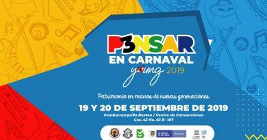 Nuestra reina @isabellachams participará, aquí en BQuilla,  en @24YoungLeaders @UNESCO_es para el @Carnaval_SA, vía @_VentanaAlMundo