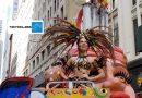 Nuestro @Carnaval_SA e @isabellachams nuestra reina conquistaron NY, vía @TecnoglassSA La @_VentanaAlMundo