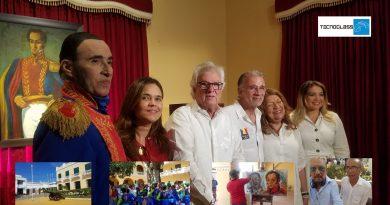 Simón Bolívar  retorna a Soledad, Atlántico, gracias a Eduardo @veranodelarosa @Gobatlantico y Joao @herrerajoao1 @soledadalcaldia, vía @_VentanaAlMundo