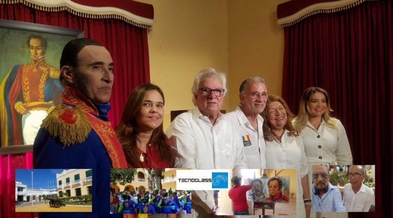 Bolívar retorna a la casa de Pedro Visbal en Soledad, Atlántico