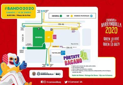 Bando 2020, 'En Barranquilla se vive así', con el 'Príncipe del Carnaval' @checoacosta, @diegodazam y @MrBlackChampeta: @isabellachams, @CarnavalSA, vía @_VentanaAlMundo
