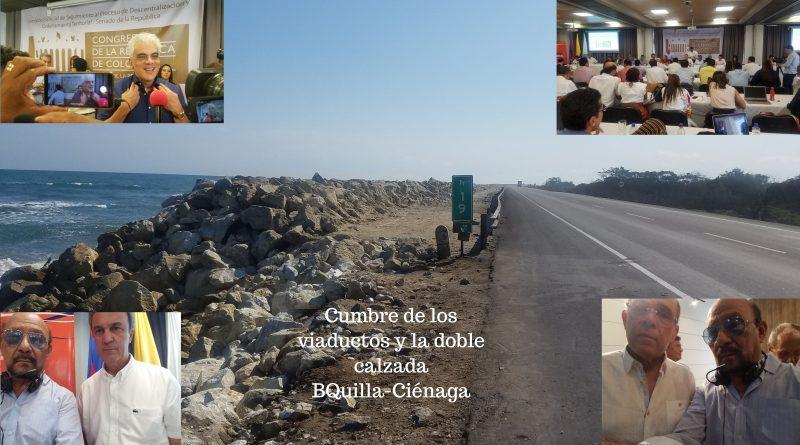 Gobierno dejará financiados viaductos y doble calzada BQuilla-Ciénaga